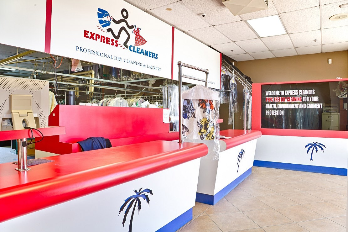 express cleaners interior