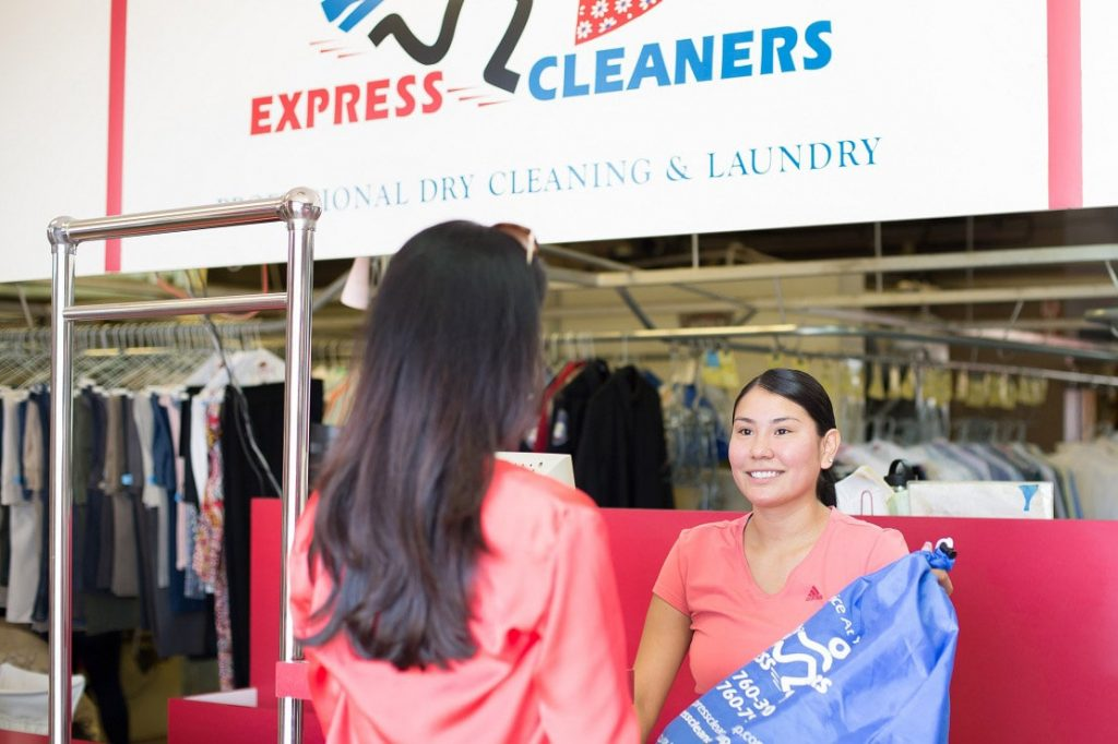 express cleaners team member